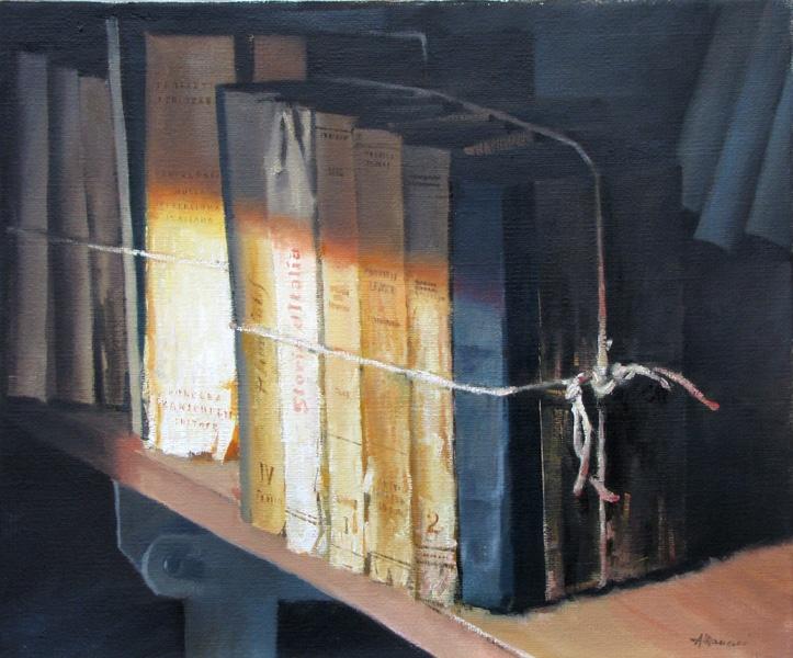 #1195 Libri / Books 50x60 (Venduto / Sold)