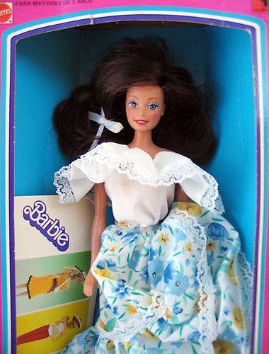 Barbie llanera by Rotoplast Venezuela : esta nena la adoro, yo soy de los llanos orientales de colombia y por algun motivo esta nean alli fue famosa, bueno la recurdo de nino aunque nunca la tuve :) | jucerare