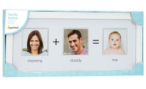White Family Photo Frame by Pearhead