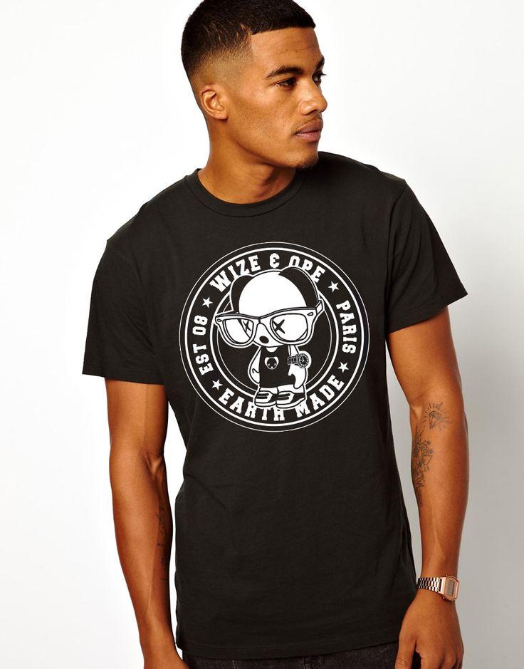 New tee shirt wizeandope!