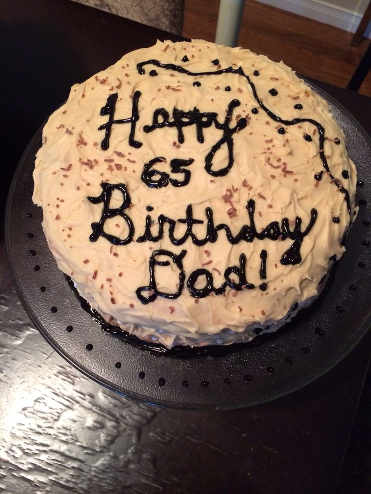 I can't remember the kind of cake I made for my dad 's 65th bday either. Lol.  Again, everyone thought it was delicious! But I don't remember what I did. Lol (I'll update when it hits me.) ;)