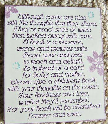 baby poems on pinterest book baby showers and baby shower poems