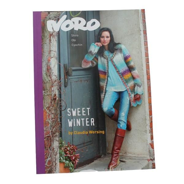 NORO SWEET WINTER by Claudia Wersing - A book of 15 Fabulous Garments – TUPPY'S AUSSIE FABRICS