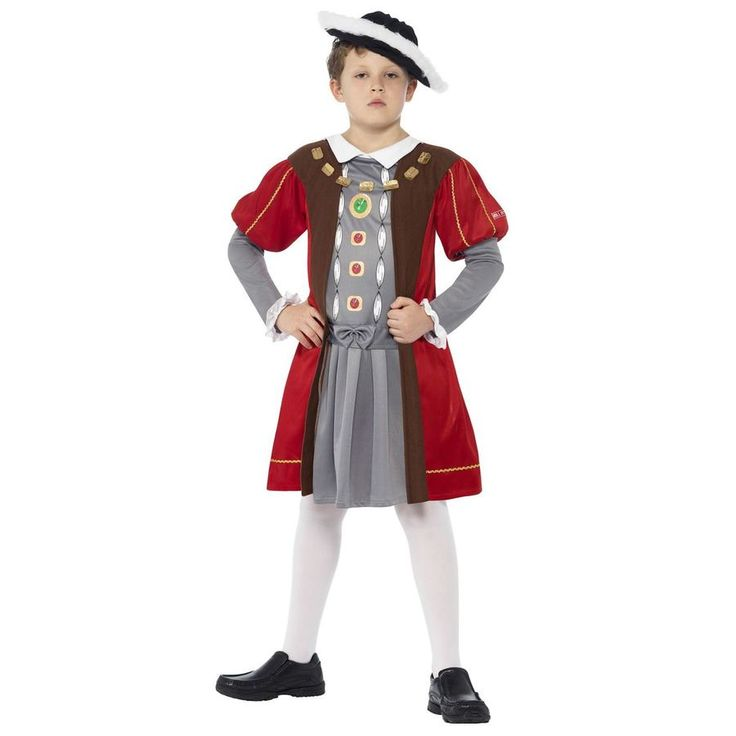 Iconic Henry the 8th Costume with Hat