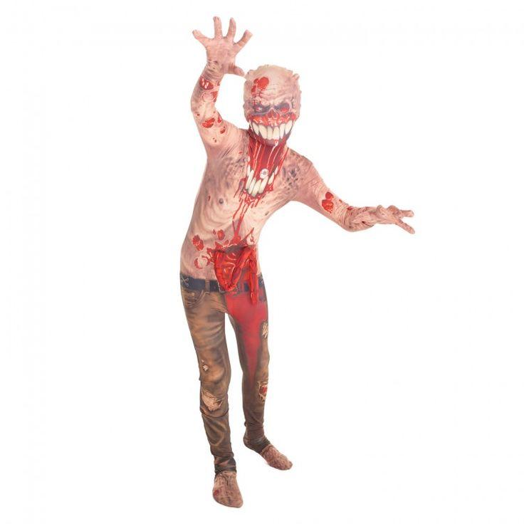 Exploderende Darmen Zombie Kostuum voor Kinderen