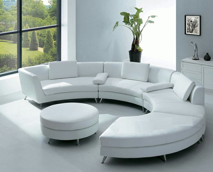 white ultra modern sofas living room