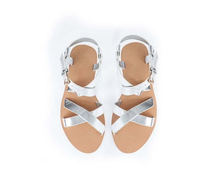 Sandále s metalickými pásikmi | modino.sk #ModinoSK #modino_sk #modino_style #style #fashion #spring #summer #shoes #sandals