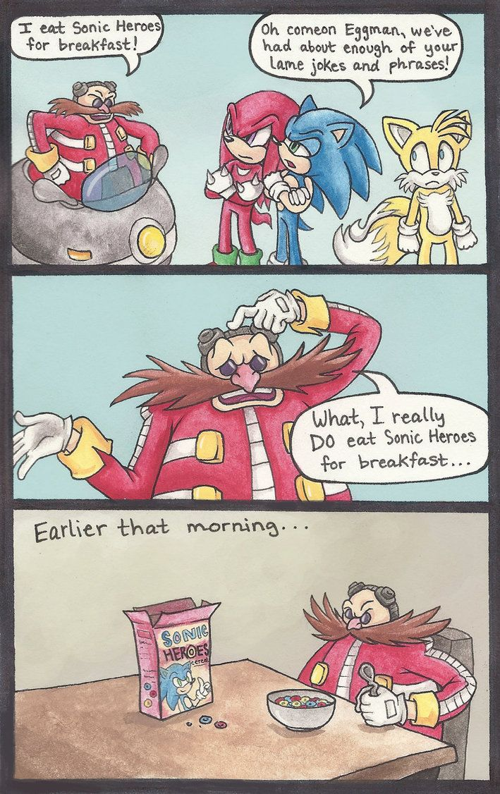 Hahahaha Sonic Heroes This Is Too Funny Hahahaha