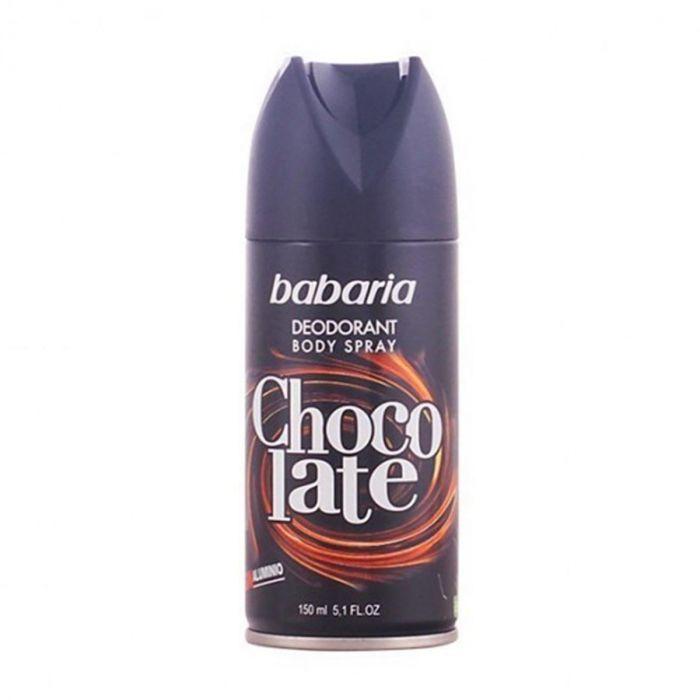 Babaria Chocolate Dèodorant Vaporisateur 150ml50ml Gratuit