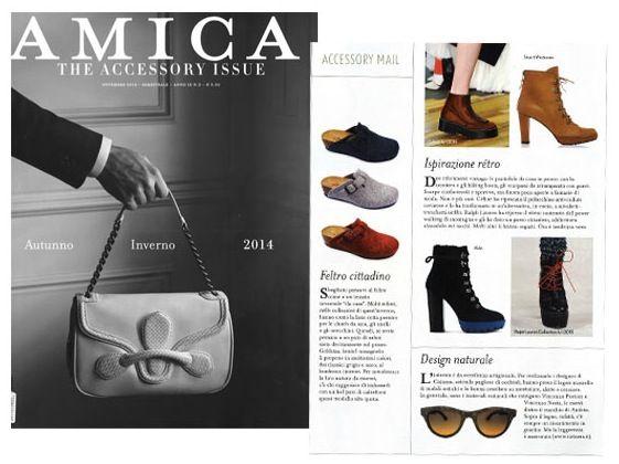 Catuma is on italian magazine •AMICA