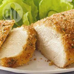 Poulet en croûte de parmesan @ qc.allrecipes.ca