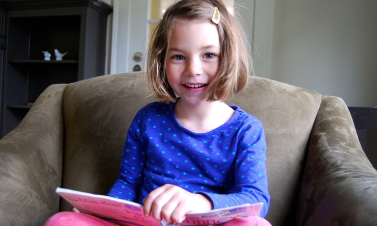 how to teach a child to read time