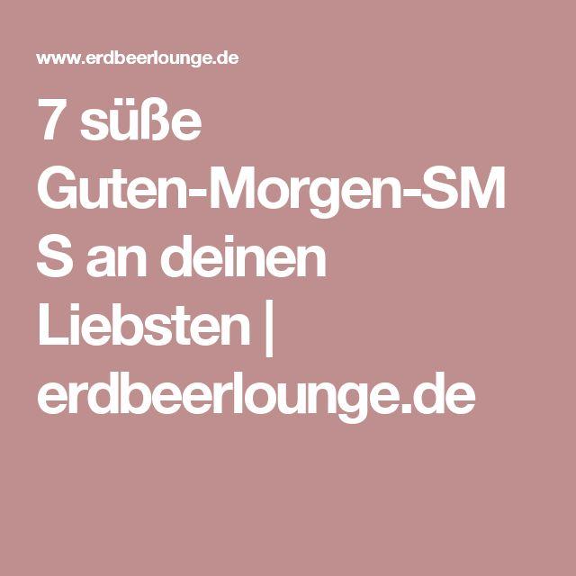 7 süße Guten-Morgen-SMS an deinen Liebsten | erdbeerlounge.de