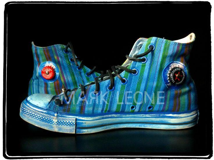 New!!!Custom Converse All-Star By Mark Leone ® Βρες το αγαπημένο σου σχέδιο τώρα! Για παραγγελίες ,η για οποιαδήποτε άλλη πληροφορία στείλτε μήνυμα στη σελίδα μας. Διαθέσιμο σε όλα τα χρώματα,και σε όλα τα νούμερα! Available in any size & any colour! For more details ,orders or further information about our creations please send us an inbox message