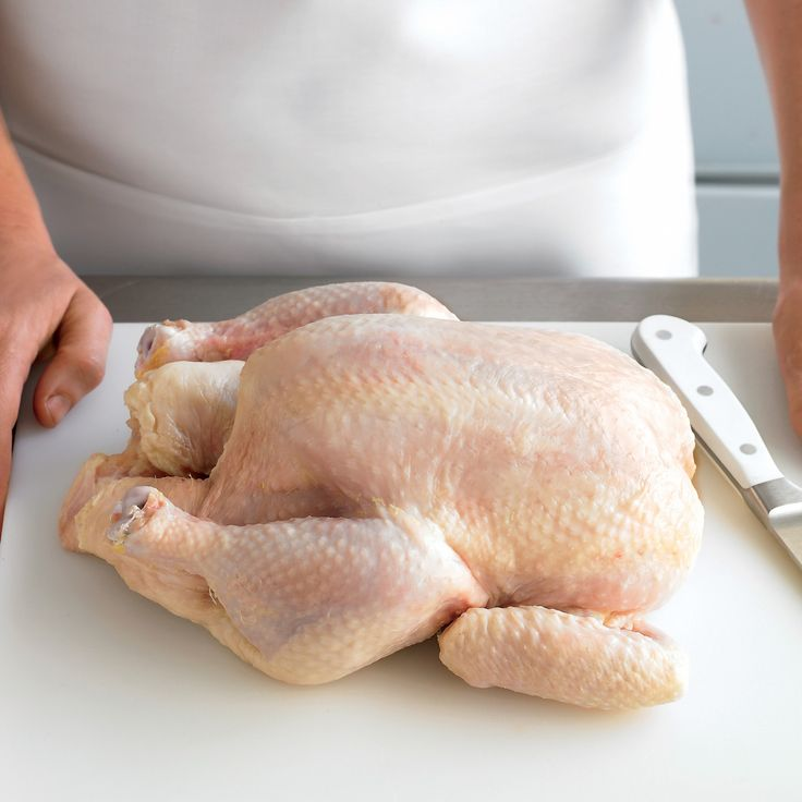how to bake a whole chicken cut up