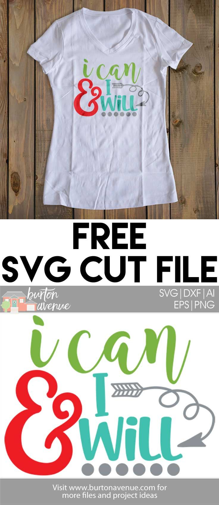 Free SVG File for Silhouette and Cricut