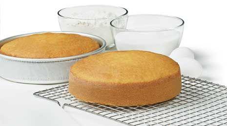 "Info for using Wilton 2"" Deep Cake Pans:  Amount of Cake Batter, Baking Time, # of servings, etc."
