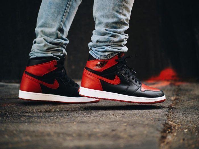 On-Feet Images Of The Air Jordan 1 High OG Bred