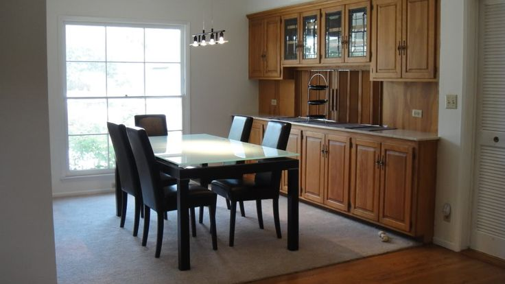 Buffet hutch built in kitchen pinterest for Built in dining room buffet ideas