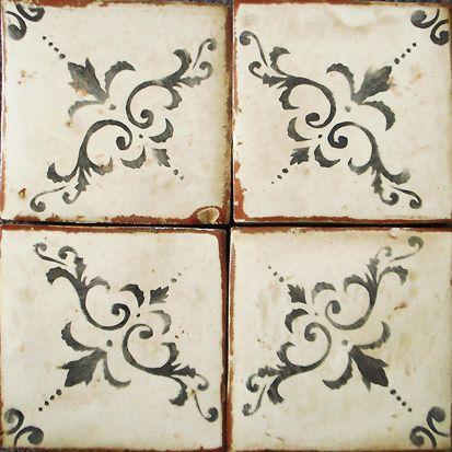Timeless antiqued tile by Tabarka Studio