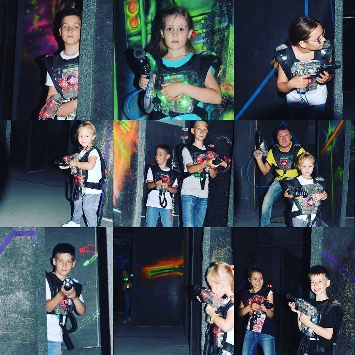 """В Летней школе Fashion Kids некогда скучать! Юные модели постреляли в лазертаг-арене """"Лазерфорс""""было круто#детимодели#записьнаобучение#детимодели# FASHIONKIDS"""