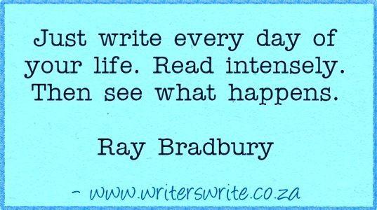 Quotable - Ray Bradbury - Writers Write Creative Blog