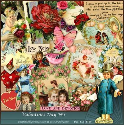 valentine's day digital backgrounds