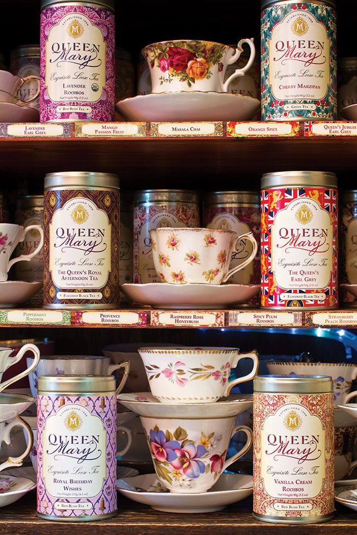 Queen Mary teas