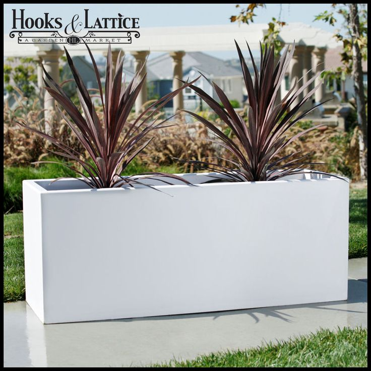 Image Result For Large Rectangular Concrete Planters