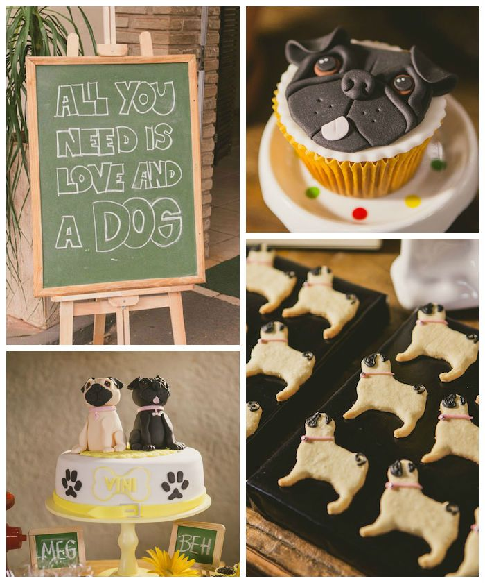 25+ Best Ideas About Pug Cupcakes On Pinterest