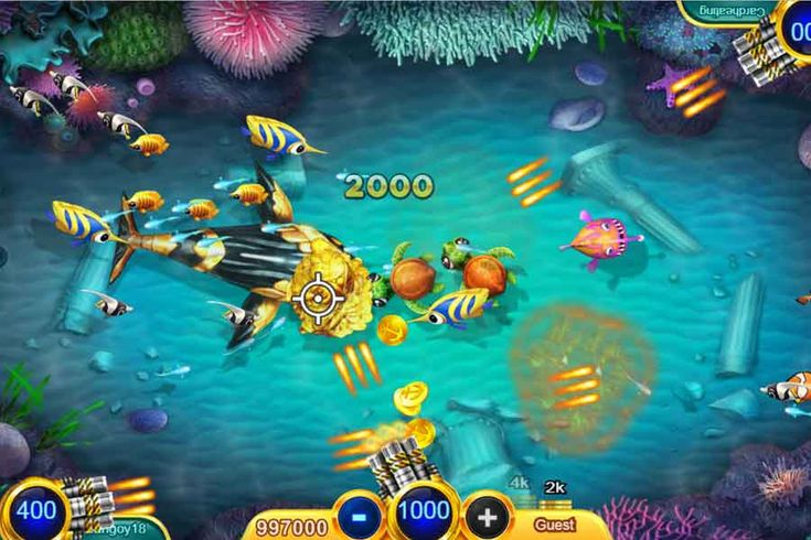 8 Tips To Win In Online Fish Shooting Game Shooting Games Fish Hunter Games