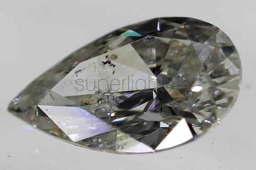 CERTIFIED 0.16 CARAT H COLOR SI1 PEAR BUY LOOSE DIAMOND 5.02X3.07MM VG VG *360 VIDEO & PROFESSIONAL IMAGES INSIDE
