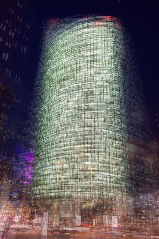 Around #10 - Skyscraper at Potsdamer Platz in Berlin - Marco Ristuccia - fine art showroom