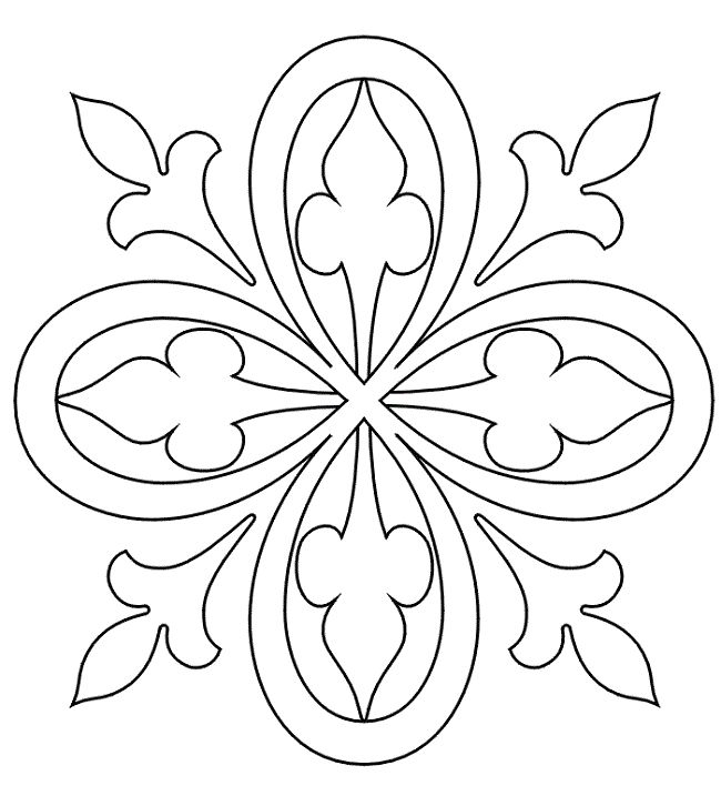 Kids Coloring Pages Patterns