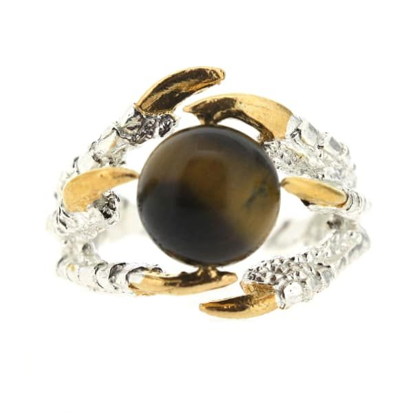 Pearl of London Tigers Eye Silver | Tessa Metcalfe | Wolf & Badger