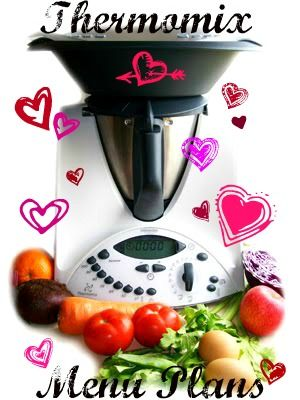 Quirky Cooking: Thermomix Menu Plans - 13th February