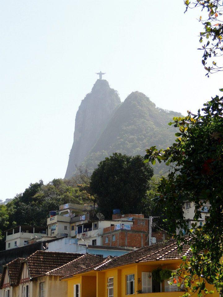 Favela Santa Marta, Botafogo - Rio de Janeiro from: http://facebook.com/ana.venzon