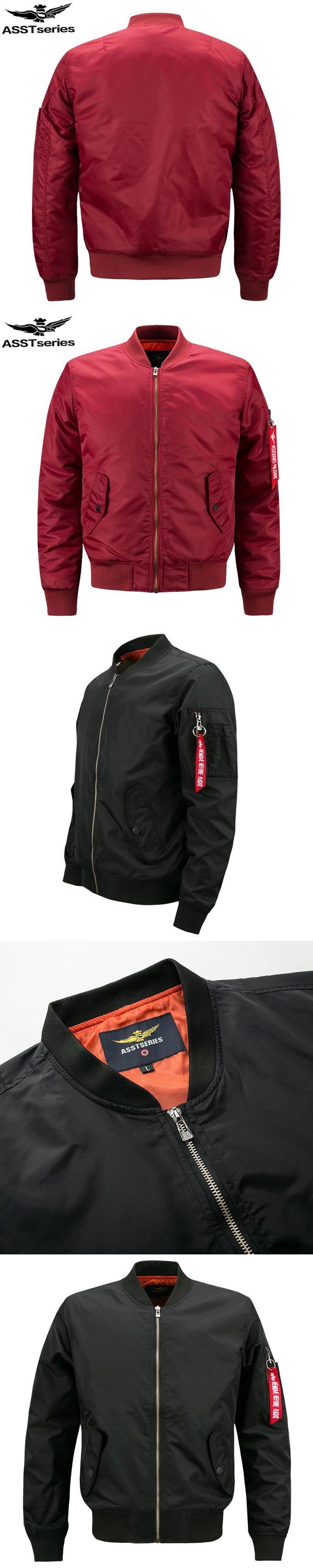 Bomber Jacket Men Plus Size Jacket For Men Military Jacket Men Mens Spring Jackets And Coats Male 2018 Customize Your Logo.DA27