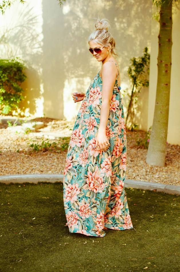 RiffRaff Floral Maternity Dress