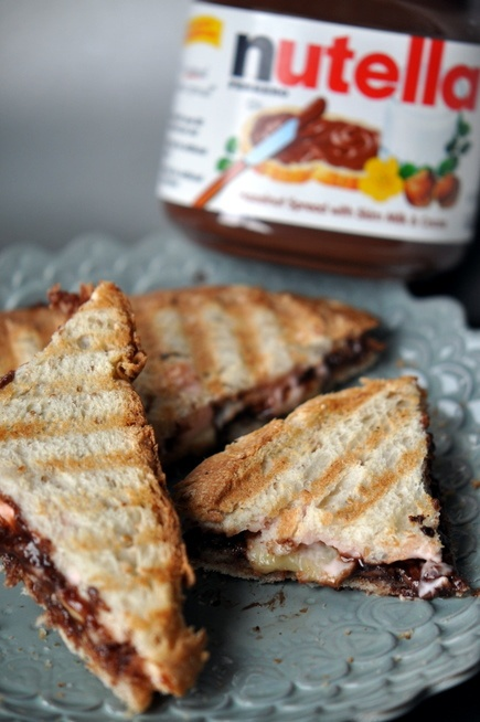 maker panini press panini sandwiches panini recipes strawberry banana ...