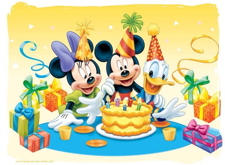 mickey mouse cumpleaños