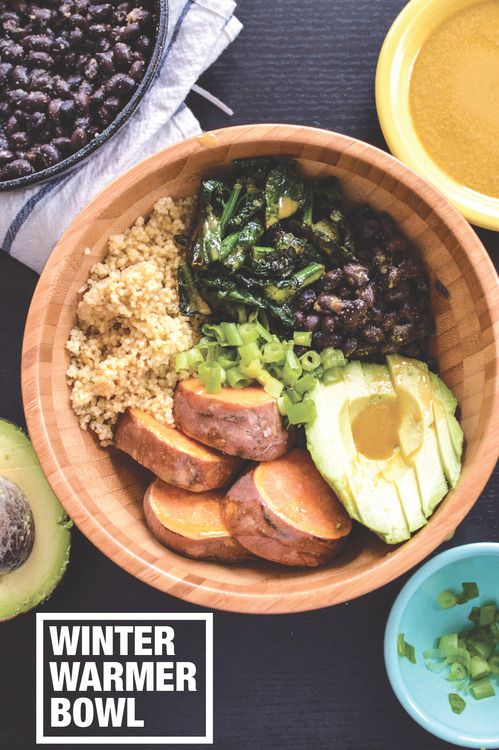 Winter Warmer Bowl   The Collegiate Vegan    #recipe #Healthy @xhealthyrecipex  
