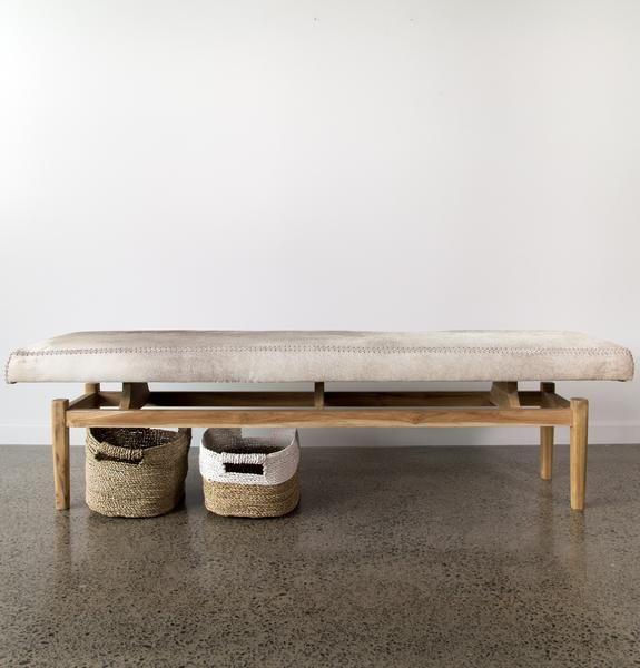 Cowhide Bench (XL)