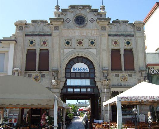 Viareggio - Bagno Balena, Viareggio Liberty   documentati sull'arte Liberty in ITalia attraverso il portale web dedicato: www.italialiberty.it