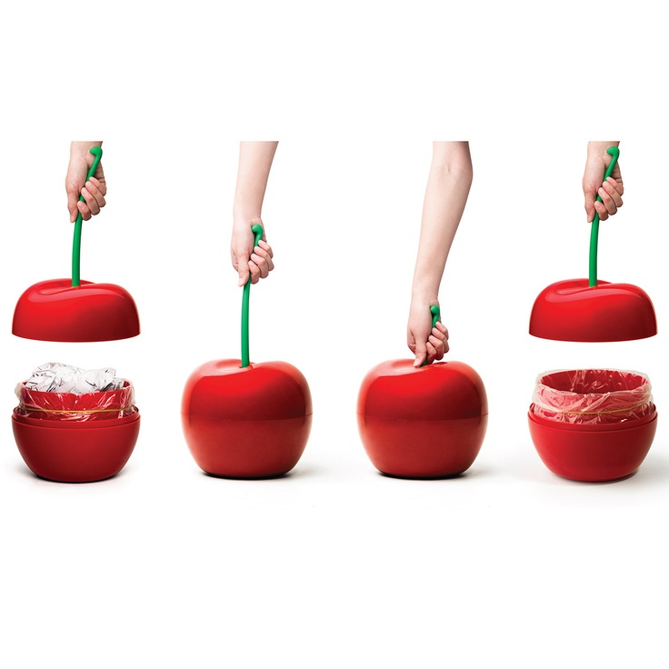 Want to have a little fun?  Here is a #Cherry #Bin #Container - this would be fun in so many different ways.  You could use it as an ice bucket, a candy dish, to hold snacks, office supplies, etc... the list is endless.