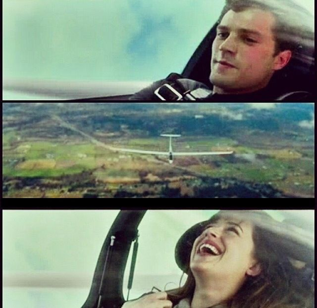 """If until recently the most popular """"gliding"""" movie was """"The Thomas Crown Affair"""", where Hollywood stars have ripped a glider """"Duo Discus"""", will soon come a breakthrough in promoting gliding! And all the hands of Hollywood. Thanks to the film adaptation of the book """"50 shades of gray."""""""