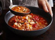 Bohnen, roter Camargue-Reis, Thymian und Tomaten versetzen uns in die Provence. Zimt und Orange lassen Arabisches anklingen.
