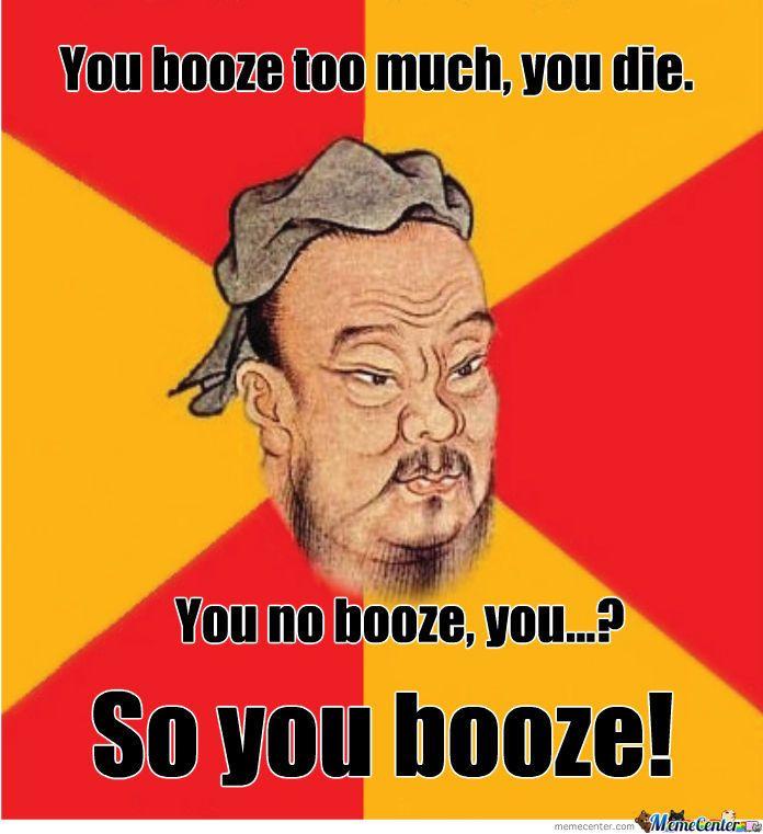 Confucius Say Pics