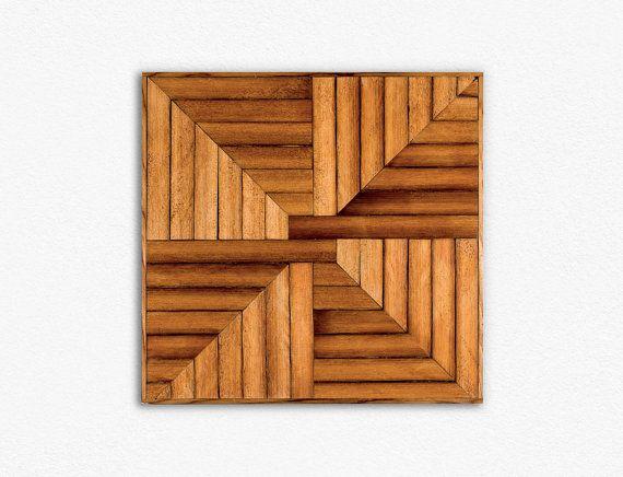 Arte de pared de madera  recuperado arte de pared de madera