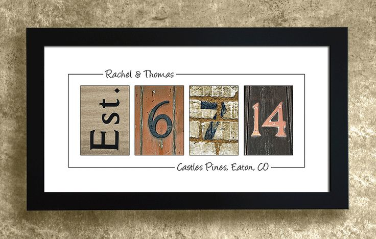 PERSONALIZED WALL DECOR - Frame Your Date, Wedding Gift, Anniversary Gift Idea by AlphabetArtPhotos on Etsy https://www.etsy.com/listing/100598449/personalized-wall-decor-frame-your-date